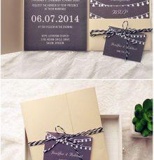 Godesign wedding invitations in jakarta bridestory wedding invitation brown by godesign stopboris Images