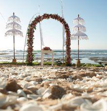 Merry Matrimony Package - Beach Wedding (Rp. 35,000,000) by TANADEWA VILLAS AND SPA, NUSA DUA