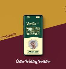 Online Wedding Invitation -  Derry & Yudiet by Menunggumu.id