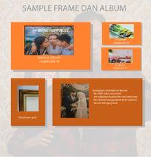 Catalog Album Dan Frame by Precious Moment photography