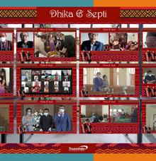 Dhika & Septi Virtual Online Live Streaming Marhusip & Martumpol by Truevindo