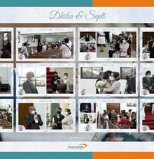 Dhika & Septi Virtual Online Wedding Live Streaming Holy Matrimony by Truevindo