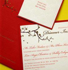 Dinner Invitation by PAPERLINK