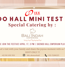 Test Food! Special by Bali Indah Catering by IKK Wedding Venue