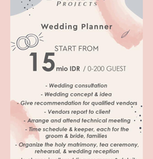 NEW PRICELIST 2021 - PANDEMIC PRICE by Double You Wedding