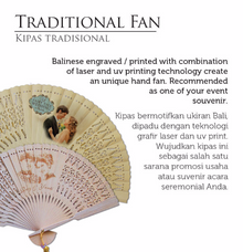 Traditional Hand Fan by Wiracana Hand Fan