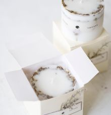Botanical Candle S | Packaging: Soft Box by Kaminari