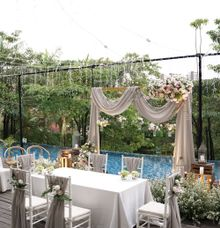 Ochie & Wisnu Wedding at Wyl's Kitchen by Fiori.Co
