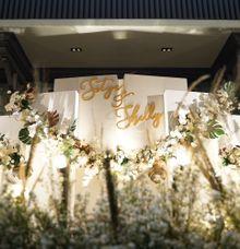 Satya & Shelly Wedding at Suasana Restaurant by Fiori.Co