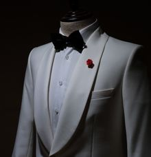 Dinner Jacket for the groom by Terra Tailor