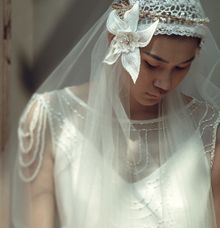 MIA Headpiece & AVA Veil by House of Jealouxy