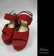 Stripe Wedges by Madame