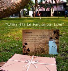 Postcard Invites by Azka Gallery