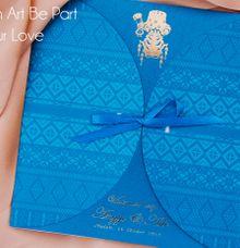 Mandailing Theme Invitations by Azka Gallery