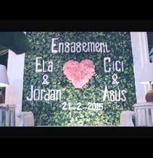 Tunangan Ela+Jordan & Cici+Agus by imani videography