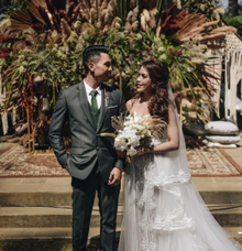 Bohemian wedding by Elleonora Shindy