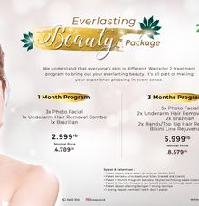ZAP EVERLASTING BEAUTY PACKAGE by ZAP Clinic
