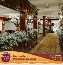 Wedding Expo at Balai Kartini 28-30 June by MERCANTILE PENTHOUSE WEDDING