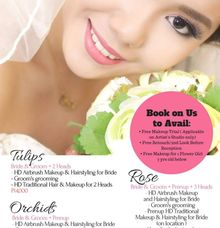 2018 Hair & Makeup Promo Packages by D' Makeup Artist