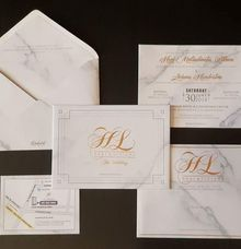 Marble Invitations by Red Card