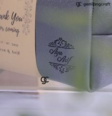 Boxy Premium for Ayu & Arif by Gemilang Craft