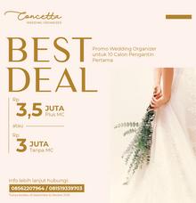 BEST DEAL by Concetta Wedding Organizer