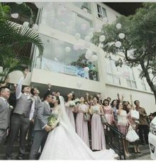 The Wedding of Ferdinand & Maissy by Priority Rent car