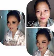 Wedding makeup stephanie by Imel Vilentcia Make Up Artist