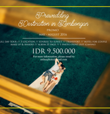 Prewedding promo package  by Astina Photography