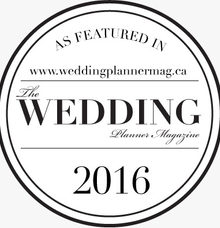 featured on The Wedding Planner Magazine  by Motion D Photography