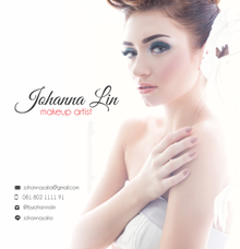 Bridal makeup by Johanna Lin