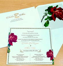 Christian & Ellince Invitation's by Toho Cards