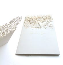 Reginald & Marisa Wedding Invitation by Blue Label Invitation
