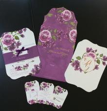 Purple Blissfull by Queenie Invitation