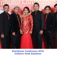 Unilever Distributor Conference 2016 by Djampiro Band Bali