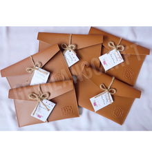 Premium safiano pouch by Gemilang Craft