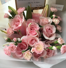Handcrafted Bouquet  by Levian Florisen