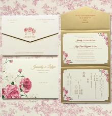 Junaidy & Lidya Wedding Invitation by Blue Label Invitation