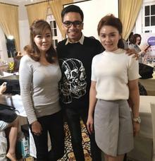With Professional MUA Bubah Alfian by Stella Nadia MUA