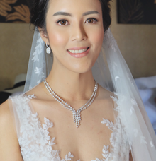 Wedding of Ms. Suphanee Ong by Fikri Halim Makeup Artist