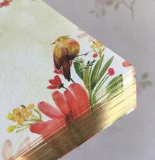Edge Foil Technique  by H2 Cards