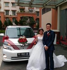 Happy Wedding Darwin & Angelia ❤️ by Michael Wedding Car