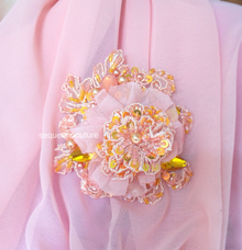 Brooch by Sequeen Couture