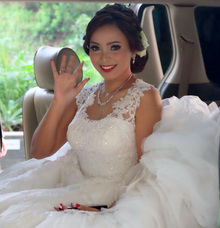 Wedding Day Marwin and Lucia by Luminous Bridal Boutique