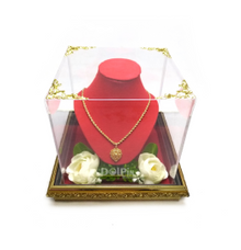 Nampan Frame Perhiasan Kalung- FK by Dolpin Wedding Gallery