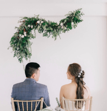 Esther + Jay by Fleur&craft