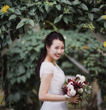 Yanyi + Benedict by Fleur&craft