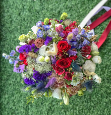 Pre-wedding flowers for Bride A by Florals Actually
