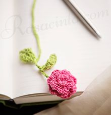 CROCHET BOOKMARK by rasacinta
