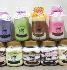 Cheesecake In Jar & Pudding In bottle by D' Carolicious